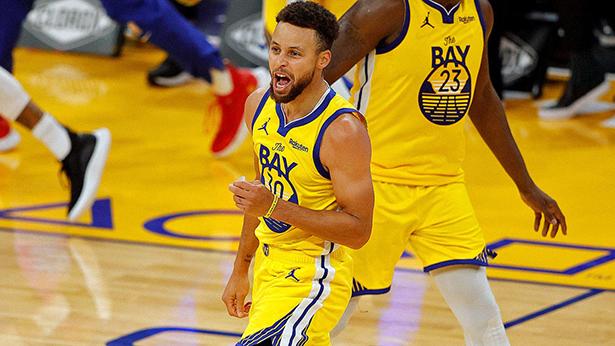 La rareza en la segunda mitad del juego de la NBA permitió a los Warriors ganar un lugar en los playoffs en la concurrida Conferencia Oeste.