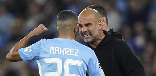 Guardiola le explicó el enorme enfado a Mahrez